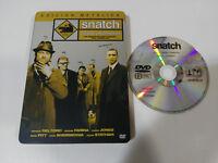 SNATCH CERDOS Y DIAMANTES BRAD PITT JASON STATHAM DVD STEELBOOK ESPAÑOL ENGLISH