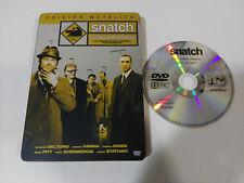 Snatch Maiali Y Diamanti Brad Pitt Jason Statham DVD Steelbook - Am