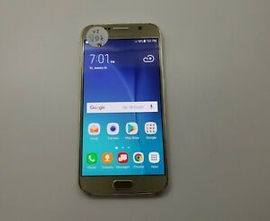 Samsung Galaxy S6 G920V 32GB Verizon Check IMEI Fair Condition RJ-740