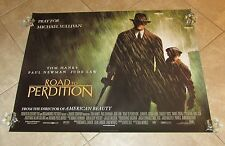 ROAD TO PERDITION movie poster (A) TOM HANKS poster, PAUL NEWMAN uk quad poster