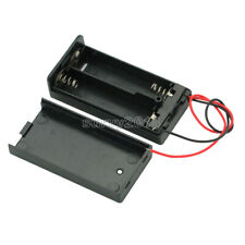 2 AA 2A Battery Holder Box Case with ON/OFF Switch and Cover for 2AA battery F