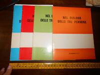 LIBRO: NEL DIALOGO DELLE TRE PERSONE 4 QUADERNI LA SPEZIA 1976