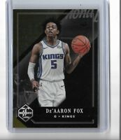 2017-18 Panini chronicles Limited Gold Parallel De'aaron Fox RC 10/10 KINGS