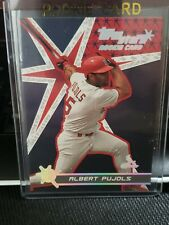 ALBERT PUJOLS 2001 TOPPS STARS ROOKIE RC CARD!