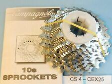Campagnolo Centaur 2004 / 10 Speed  12 / 25   cassette sprocket set - NOS