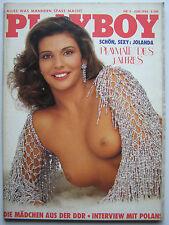 Playboy - D 6/1984, Jolande Egger, Dona Speir, Edy Williams, Ola Ray,