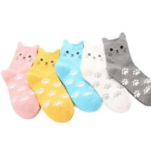 stereoscopic ear cat socks Women Ladies Girls Boy warm Cotton socks Comfortable