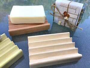 Handcrafted Boardwalk Style Wooden Soap Dish - Soap Saver - Made in the USA