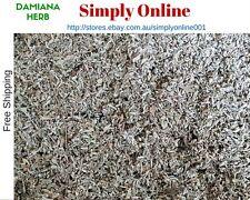 DRIED DAMIANA LEAF 100g Turnera diffusa PREMIUM QUALITY FREE POST - Quality Herb