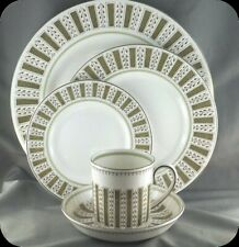 Wedgwood Susie Cooper Persia 5 piece Place Setting Pristine