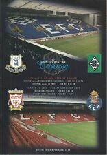 EVERTON F.C V BORUSSIA MONCHENGLADBACH 1996 PRE SEASON FRIENDLY MATCH PROGRAMME