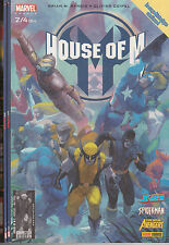 HOUSE OF M N° 2-3-4 comics Panini Marvel