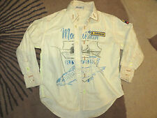 GUC EURO BOUTIQUE BOYS HIGH END DESIGNER WILD SOUTH SHIRT SZ 5 6