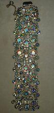 Gorgeous Vintage Alice Caviness Aurora Borealis   Stone Bracelet