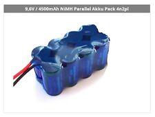 9,6V / 4500mAh NiMH Parallel Akku Pack 4n2pl