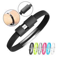 20CM Mini usb cable mini flat bracelet Sync & Data Charging Cable RDR