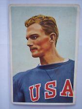 Glen Hardin Olympia Olympics 1936 Berlin Trading Card Muhlen Franck 400m Hurdles
