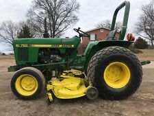 John Deere 750 Tractor 60 Inch Mower Deck W/ 3 Point Hitch 540 Pto Diesel