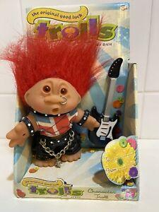 Original Good Luck Troll Punk rocker Character By Dam 2005 Boxed