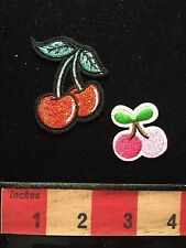 Appliqué Style CHERRY FRUIT Patch Lot ~ 2 Styles, You Get Both 68WI