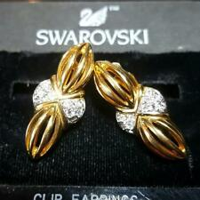 Swarovski Crystal Clip Fashion Earrings