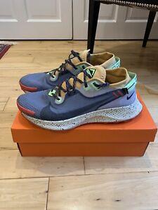 Nike Pegasus Trail 2 GTX Gore Tex Smoke Grey / Black-Bucktan UK 10.5 VGC boxed