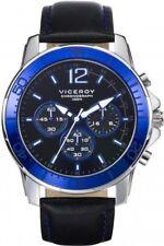 Reloj de hombre Viceroy cronógrafo de piel sport 46633-35