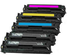 Pack 5 toner HP Color LaserJet Pro cm 1415fn FNW cp1525n cp1525nw ce320a-23 128a