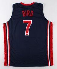 "Larry Bird Signed Team USA ""Dream Team"" Jersey (JSA COA) Boston Celtic Superstar"