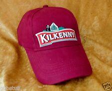 KILKENNY DRAUGHT BEER BASEBALL CAP ~ GENUINE MERCHANDISE BAR HAT ~ FREE POSTAGE