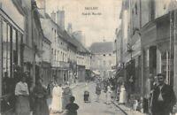 SAULIEU -  Rue du Marché  (Côte d'Or)