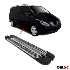 Trittbretter Schweller Seitenbretter für Mercedes-Benz Vito 2003-2014 Aluminium