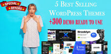 Collection Best Selling Wordpress Themes