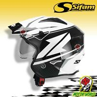 SWAP'S Helmet Jet Trial S769 Black White Available IN Various TG