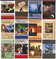 Tarjetas De Cumpleaños Deportivos Y De Ocio Varios Diseños 1ST P&P