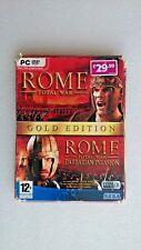 Rome: Total War  Plus Barbarian Invasion(PC: Windows, 2005) - European  Version*