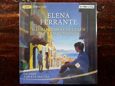 """Elena Ferrante""""DAS LÜGENHAFTE LEBEN DER ERWACHSENEN"""",1 mp3-CD,neu,OVP,ohne Porto"""