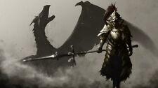 """004 Dark Souls 3 - III Hot Video Game 43""""x24"""" Poster"""