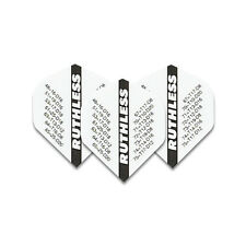 Ruthless Xtra Strong Checkout White Dart Flights - 4 sets per pack (12 flights)