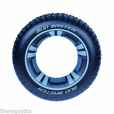 "MUD MASTER TIRE TUBE 36"" Pool Ring Lazy River Tubing Boat Lake House Ocean 36016"