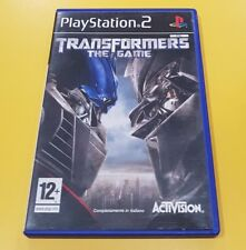 Transformers The Game GIOCO PS2 VERSIONE ITALIANA