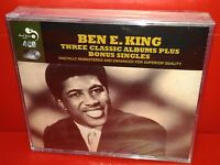 4 CD BEN E. KING - 3 CLASSIC ALBUMS PLUS - NUOVO NEW