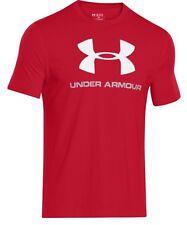 Under Armour * UA Charged Cotton Sportstyle Logo Tshirt Red Medium XL