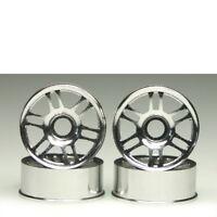 Felge 1:24 7-Speichen silber 8.5 mm 4 Stück Mini-Z Kyosho MZH-05S 704002