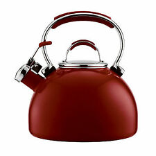 Essteele Whistling Kettle Red 1.9L