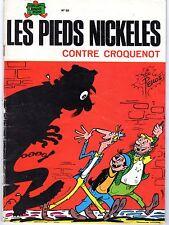 LES PIEDS NICKELES NUMERO 59 CONTRE CROQUENOT 1980