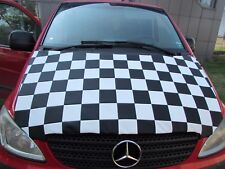 Bonnet Cover Bra for Mercedes - Benz Vito / Viano MK2 2004 - 2012 Chequered