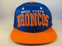 Boise State Broncos NCAA Zephyr Snapback Hat Cap Superstar Blue Orange