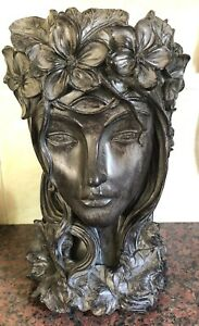 Latex Mould for making this Stunning Lady Planter/stand
