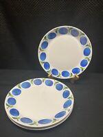 """4 Gustavsberg Sweden PRUNUS 8-1/4"""" Salad Plates Plate Set Vintage Original"""